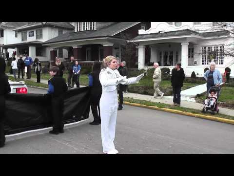 Adair County High School Marching Band - Inauguration 2011