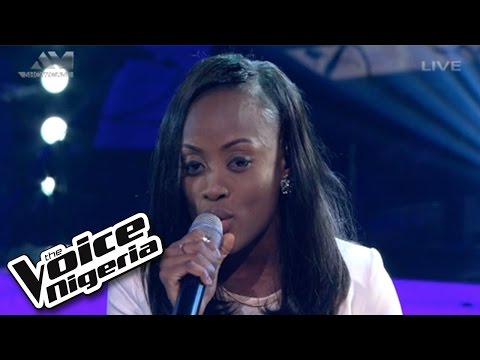 "Vicky sings ""To Make You Feel My Love"" / Live Show / The Voice Nigeria 2016"