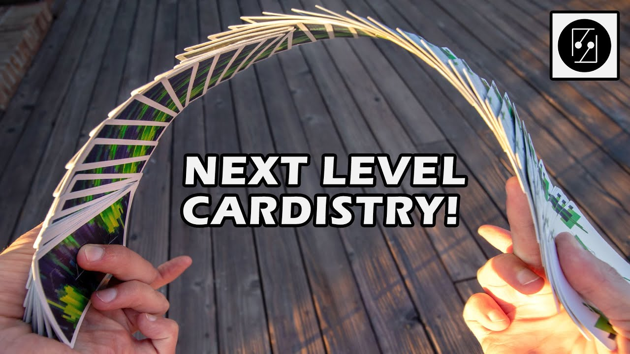 NEXT LEVEL CARDISTRY With Accordions | Cardistry Concepts | Decknosis