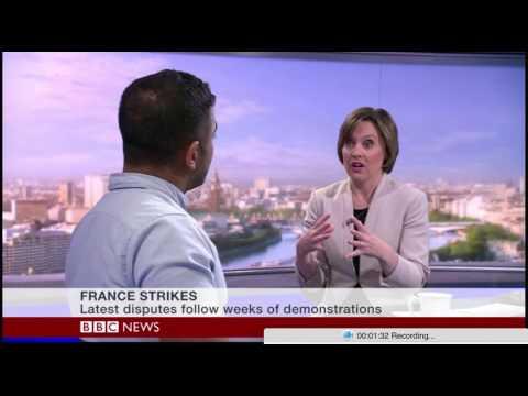 BBC World Business - France's Labour Law