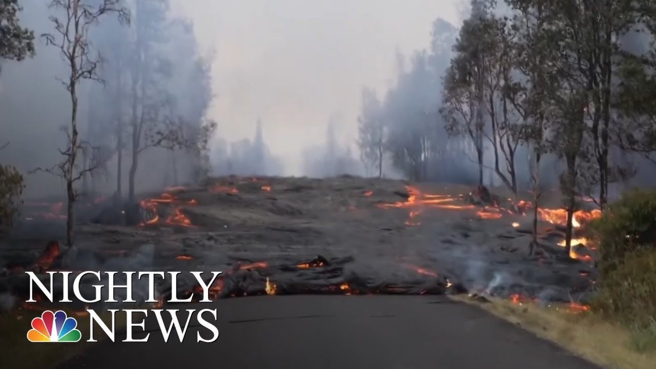 Hawaii Volcanic Eruptions Cause More Destruction | NBC Nightly News