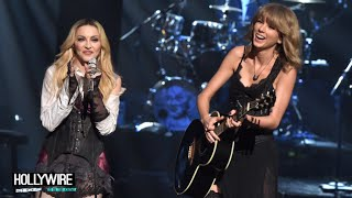 Madonna & Taylor Swift Perform Together At iHeartRadio Music Awards!