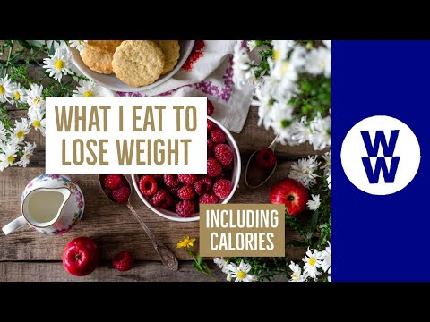 WHAT I EAT IN A DAY TO LOSE WEIGHT ON WW | CALORIES INCLUDED! | WEIGHT WATCHERS!!