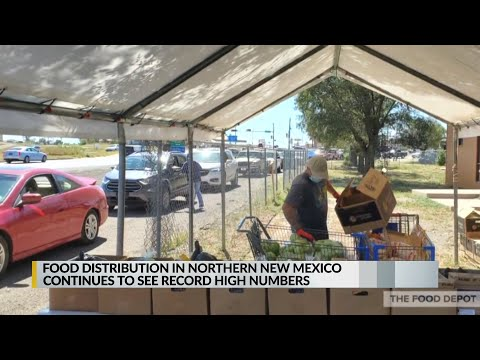 Food distribution in northern New Mexico continues to see record-high numbers