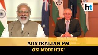 Watch: Australian PM Morrison speaks on 'famous Modi hug', samosas & khichdi