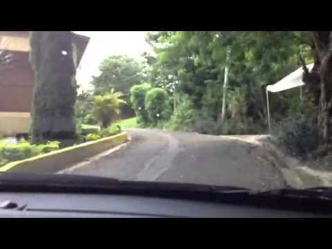 Driving home - Jayuya Puerto Rico