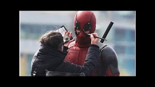 Loạt ảnh Deadpool quậy