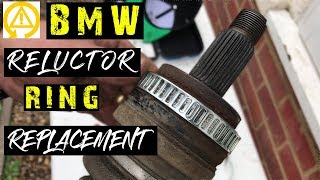 BMW 118i Reluctor Ring Replacement Fault Code  5DB1