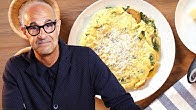 Simple Mushroom Frittata As Made By Stanley Tucci
