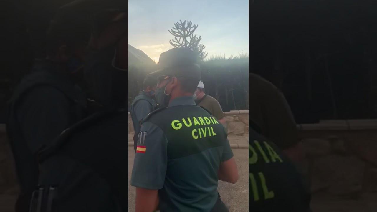 VEAN cómo siguen FRIENDO a MULTAS a ESPAÑOLES que PROTESTAN en GALAPAGAR en el CASOPLÓN de Iglesias