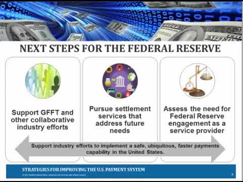 Federal Reserve Next Steps in the Payments Improvement Journey:  Educational Webinar