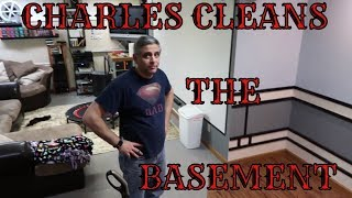 Cook with me hummus / Charles cleans the basement