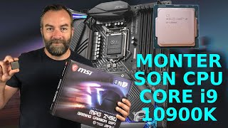 [Cowcot TV] Guide : montage CPU Intel Core i9-10900K sur une MSI Z490 Gaming Carbon