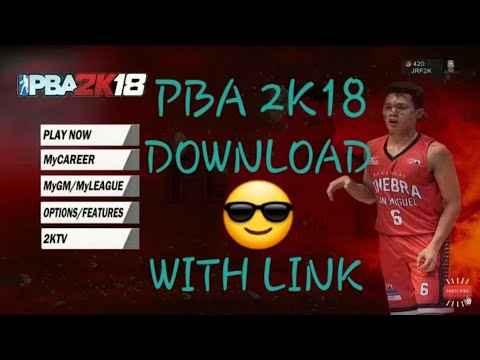 PBA 2K18 ANDROID GAMEPLAY (WITH MEDIAFIRE LINK)
