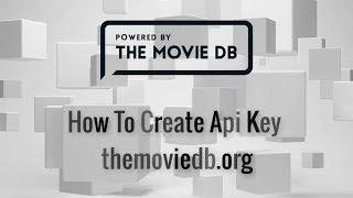 كيفية إنشاء themoviedb.org API - خطوة من الخطوات