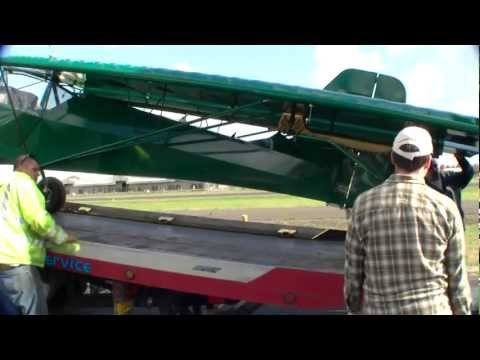How to Ship an Airplane - Shipping a Kitfox / Avid / Highlander in a TRUCK