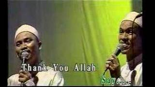 Watch Raihan Thank You Allah video