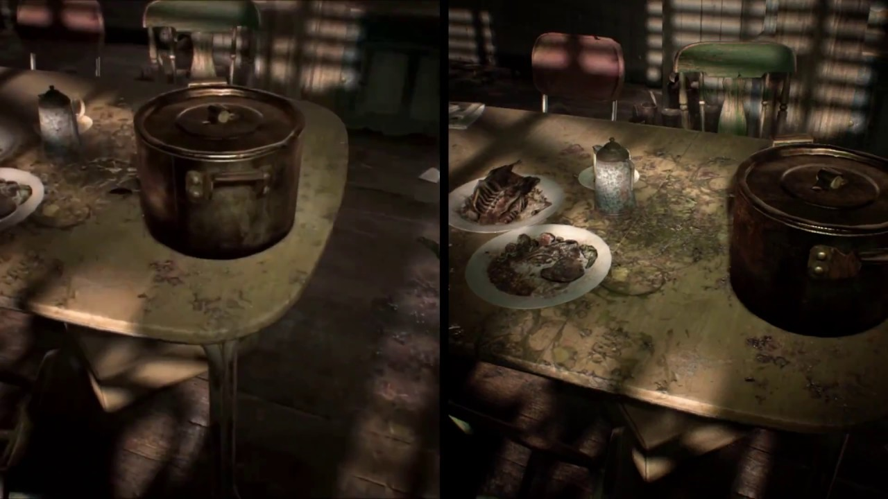 Resident Evil 7 Switch Vs Ps4 Visual Comparison Video Direct