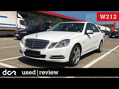 Buying a used Mercedes E-class W212 - 2009-2016, Buying advice with Common  Issues