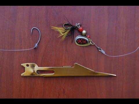 приспособления для вязания рыболовных узлов