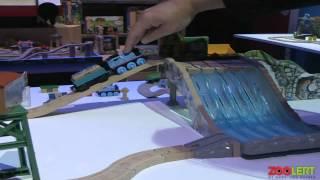 Thomas & Friends Wooden Railway At New York Toy Fair 2014