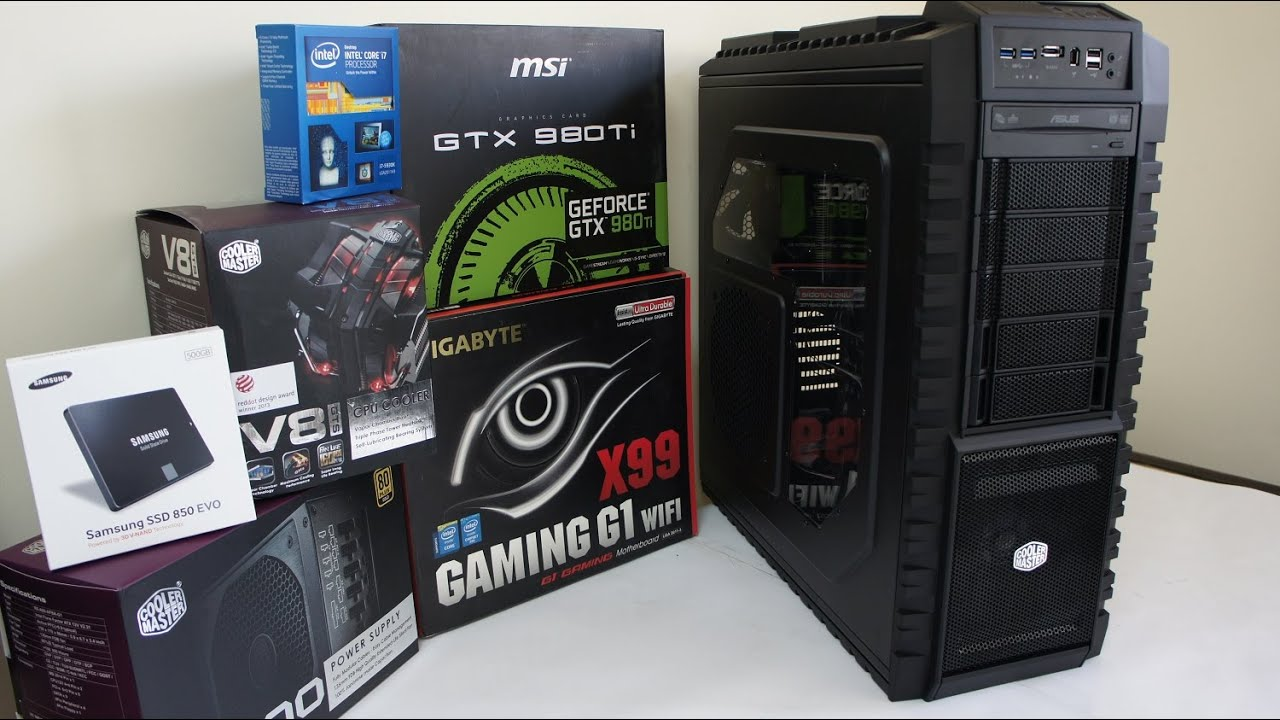 Pc Gaming Build Gtx  What Intel Cpu