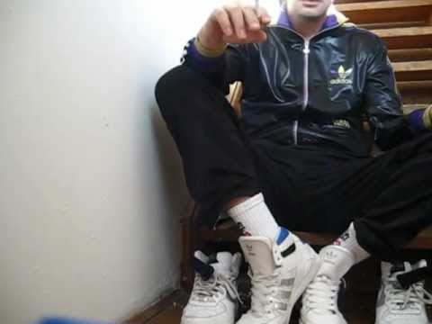 Quick Smoke in Adidas Hardcourts and Chile 62