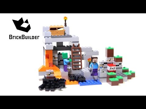 Lego Minecraft 21113 The Cave - Lego Speed Build