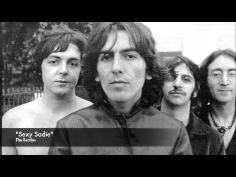sexy sadie written about beatles