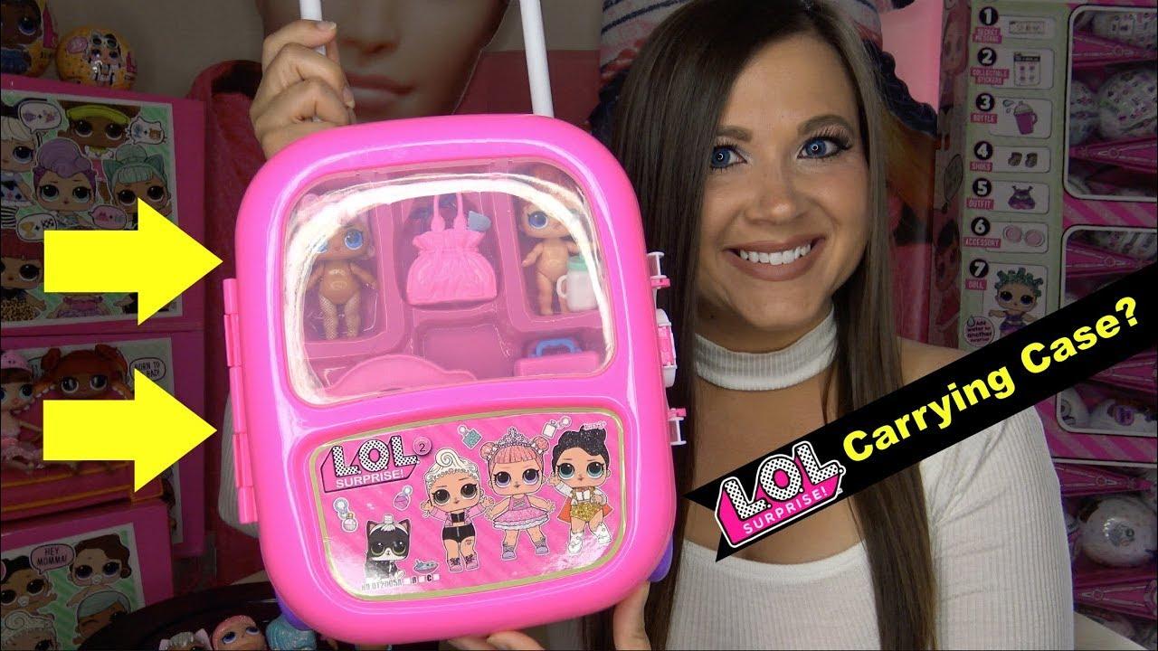 Lol Surprise Dolls Carrying Case Fake Lol Surprise Confetti Pop