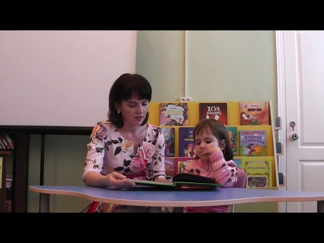 Изображение предпросмотра прочтения – ЛейсанГалимова читает произведение «Колобок» (Русский фольклор )