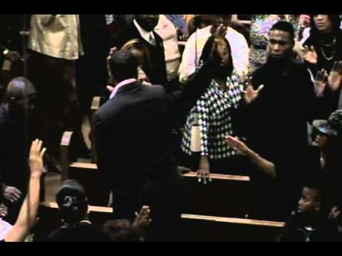 prophet brian carn laying hands pt 2.....