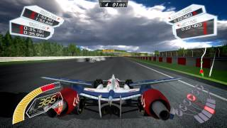 Future GPX Cyber Formula SIN Drei Plus - a game demonstration video