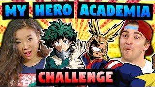 MY HERO ACADEMIA (Anime Challenge!)