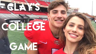 VLOG 156: Clay's first college Scrimmage