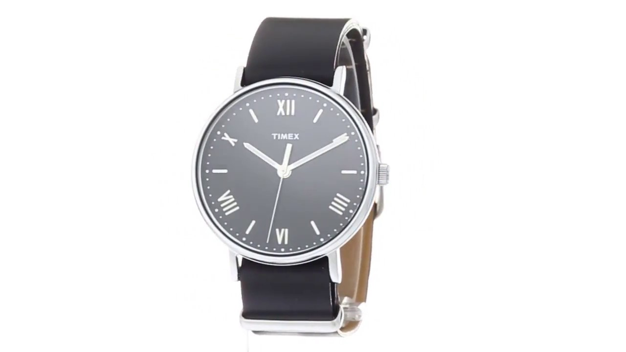 4d6c230d0 Timex Southview 41 Leather Strap SKU:8895697 - YouTube