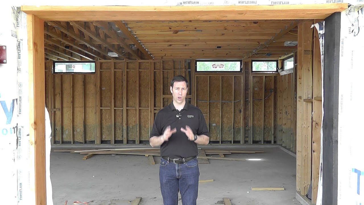 garage hvac youtube. Black Bedroom Furniture Sets. Home Design Ideas