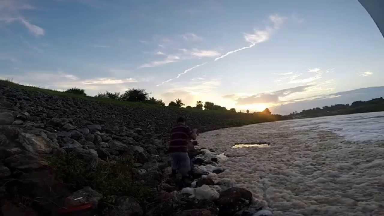 Port st lucie florida spillway tarpon fishing youtube for Port st lucie fishing