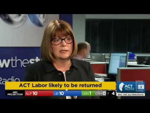 ACT Election 2016 (ABC News) Part 2