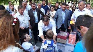 Олег Ляшко відвідав дитячий будинок сімейного типу в Новоград-Волинському районі