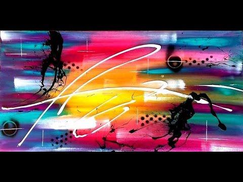 "Vidéo de peinture abstraite Samuel Chevalier "" Rêve..."" - YouTube"