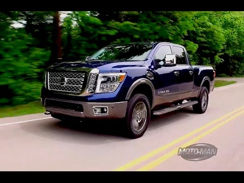 2016 Nissan Titan Xd V8 Gas First Drive Review Behind The