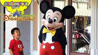 Skyheart goes to DISNEYLAND HONG KONG! - Rides and shopping with marvel disney toys for kids