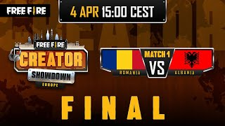 [EN] Free Fire Europe Creator Showdown - Final