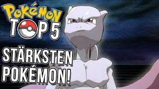 Top 5 der stärksten Pokemon anhand ihrer Basiswerte!