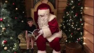 Santa meets Luna and Solis!