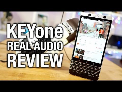 BlackBerry KEYone Real Audio Review: All work and no play?