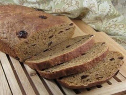 Oatmeal Raisin Molasses Bread