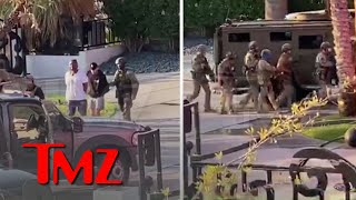 FBI Raid Famous Vegas Graffiti Mansion, Owned By Jake Paul's Friend | TMZ