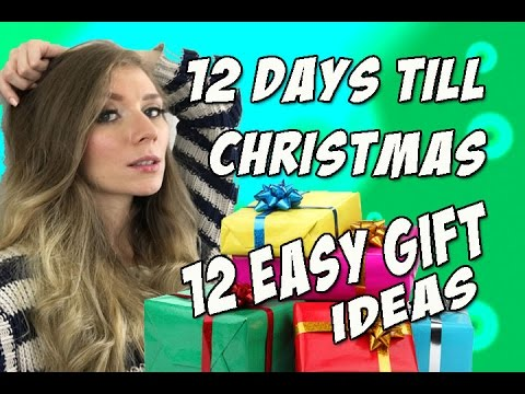 12 Days Until Christmas: 12 Easy Gift Ideas for Girlfriend, Wife ...